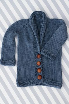 Baby Sophisticate Cardigan :: Finito!