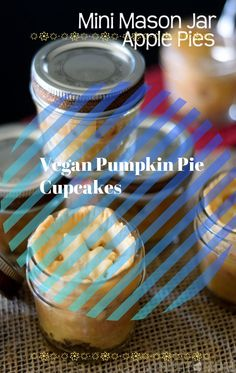 Vegan Pumpkin Pie Custard Cups or Pumpkin Pie Panna Cotta – Same Basic Recipe with One Small Tweak – Feed Your Beauty #nobakepumpkinpie #nobakepumpkinpiecheesecake #nobakepumpkinpieoatmealcookies #nobakepumpkinpiebites #nobakepumpkinpieinabag #nobakepumpkinpieinajar Pumpkin Pie Cupcakes, Pumkin Pie, No Bake Pumpkin Pie, Vegan Pumpkin Pie, Pumpkin Pie Recipes, Baked Pumpkin, Trout Bait, Mini Mason Jars, Easy Pie Recipes