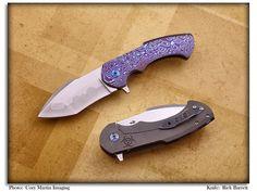 Barrett Custom Knives - Folding Knives