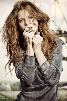 """I now LOVE archery, I find it a very therapeutic sport. I would be taken away for a couple of hours before we started filming to get back into the rhythm so that it was a fluid movement of picking up the bow and then the arrows and just being able to make it look as authentic as possible."" — Rose Leslie for InStyle UK November 2014, Photographed by Thanassis Krikis."