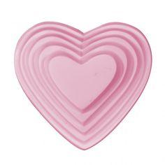 Seifenform Multi Herz - Cosmopura - Kosmetik selbermachen