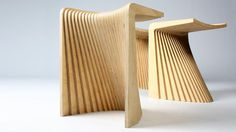 Fotoğraf: The Pleat chair by designer Chris Hardy. http://www.designermelbourne.com.au/post/42800196162/chairs-furniture-melbourne
