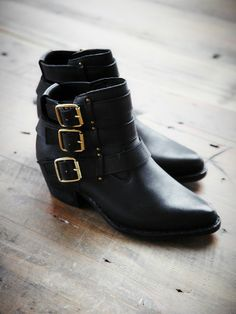 Jeffrey Campbell Free People Buckle Back Ankle Boot, 248.00