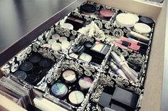 Storage ideas for your makeup!