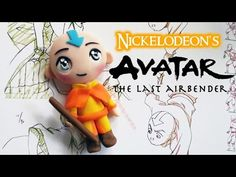https://www.youtube.com/watch?v=sPfIHe8Gu3M If you're a fan of Avatar the Last Airbender, then this is the right video for you! This cute little Aang is perfect to make as your first chibi...because he...