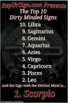 They haven't been in this libras mind....Zodiac dirty minds