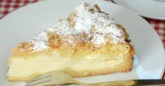 German Cheese Cake One slice and you'll know why this is so good! German Cheesecake, Cheesecake Recipes, Dessert Recipes, Cheesecake Bites, Strawberry Cheesecake, Just Desserts, Delicious Desserts, Party Desserts, German Bakery