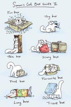 I <3 Simon's Cat... (Simons Cats Box Guide 2, via icanhascheeseburger.com)