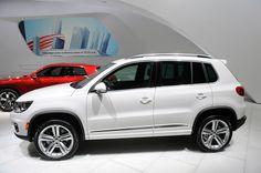 Улучшенные Volkswagen Tiguan и Touareg R-Line