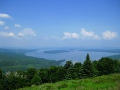 Rangeley, Maine. The area made even more famous by author Louise Dickinson Rich. Her books are very interesting and entertaining.