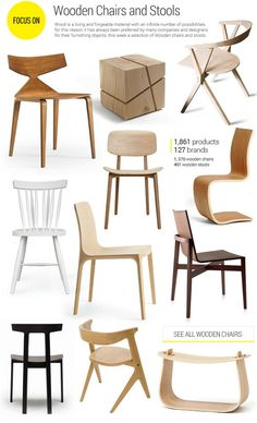 #archiproducts focus 132: wooden #chairs and #stools www.archiproducts.com/en/focus/162918/focus-132.html