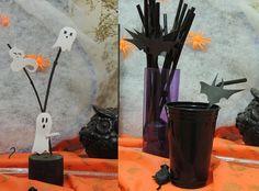 Veja mais no joiasdolar.blogspot.com.br #ideas #ideias #joiasdolar #LáEmCasa #EuQueFiz #party #festa #halloween #DiaDasBruxas #diy #craft #decor #handmade