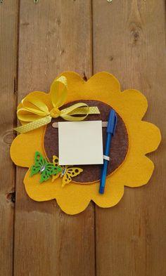 Pannello portamemo a forma di fiore, by melamelo', 12,00 € su misshobby.com