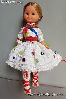 MI NANCY REGIONAL: Nancy Riojana Nancy Doll, Spanish Girls, Regional, Vintage Dolls, Beautiful Dolls, Doll Clothes, To My Daughter, Costumes, Crochet