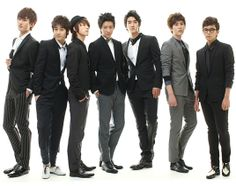SJ-M...their outfits are perfect. Realized there's a limit to awesome dress shoes in Asia