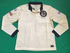 Club America 2016-17 Season Long Sleeve Home Soccer Jersey [F156]