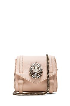 Shourouk|Small Daktari Handbag in Nude