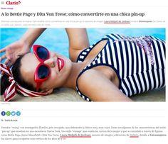 Entre Mujeres - Enero de 2017 http://www.clarin.com/entremujeres/moda/fashion-tips/bettie-page-dita-von-teese-convertirte-chica-pin-up_0_rJCEvMYwl.amp.html