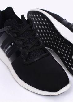 more photos 2ef92 1e906 Y3   Adidas - Yohji Yamamoto Yohji Boost Trainers - Black   White Latest  Adidas Trainers