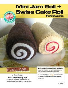 Mini Jam Roll + Swiss Cake Roll free