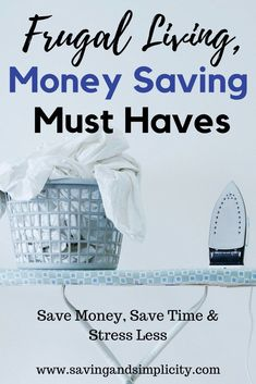 Frugal Living, Money Saving Must Haves Are you looking for simple ways to save money everyday? Checkout these frugal living must haves to help you save Living On A Budget, Frugal Living Tips, Frugal Tips, Frugal Family, Ways To Save Money, Money Tips, Money Saving Tips, Money Savers, Household Expenses