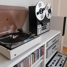 Turntable and reel to reel