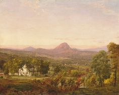 Jasper Francis Cropsey (American,1823–1900). Autumn Landscape, Sugar Loaf Mountain, Orange County, New York, ca. 1870–75. The Metropolitan Museum of Art, New York. Purchase, The Bertram F. and Susie Brummer Foundation Inc. Gift, 1961 (61.262)