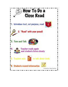 How to Do a Close Read