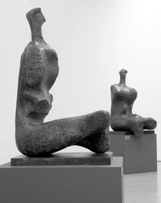 Henry Moore - Works in Public - Seated Woman: Thin Neck 1961 (LH 472) Laing Art Gallery Newcastle