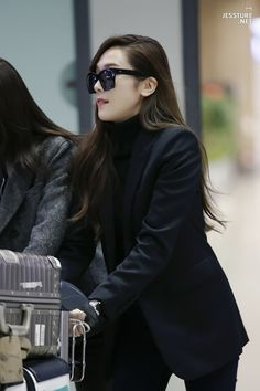 Jessica Jung Airport Fashion 151221 2015