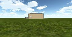 3D #architecture via @themuellerinc http://ift.tt/2iR15Lw #barn #workshop #greenhouse #garage #DIY