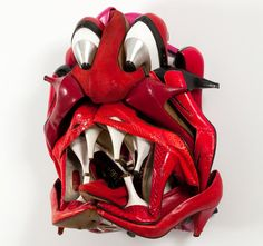 Shoe art © by Willie Cole