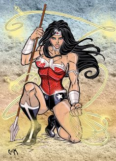 Wonder Woman of the new 52 by CrimsonArtz.deviantart.com
