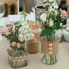 Ideas Bridal Shower Decorations Elegant Fall For 2019 Bridal Shower Centerpieces, Jar Centerpieces, Wedding Table Decorations, Vases, Diy Wedding, Rustic Wedding, Wedding Flowers, Luxury Wedding, Wedding Ideas