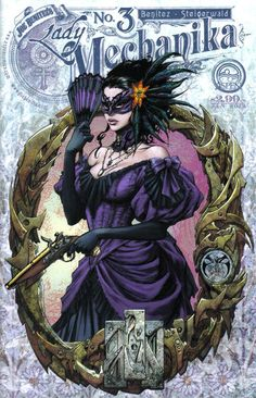 Cover for Lady Mechanika (Aspen, 2010 series) #3 [Cover B]