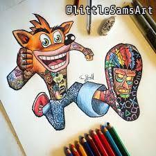 little sams art Amazing Drawings, Cute Drawings, Amazing Art, Cartoon Sketches, Cartoon Art, Disney Sleeve, Dope Cartoons, Pix Art, Color Pencil Art
