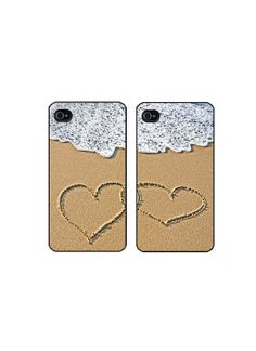 Beach, Sand and Bestie phone cases! Bff Cases, Cute Phone Cases, Iphone Cases, Matching Phone Cases, Besties, Cool Designs, Future, Unique Jewelry, Beach