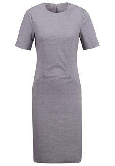 Vero Moda VMVASCO - Sukienka z dżerseju - light grey melange - Zalando.pl