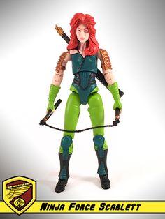Ninja Force Scarlett :: G.I. Joe Custom
