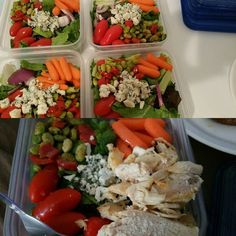 """#mealprep definitely makes a #diabetic person life easier. Struggling to figure out what to eat and wonder if it'll raise your blood sugar. The best thing to do is have your meals prepared. It really makes controlling your sugars easier if you know what you're putting in your body. Preparing your meals ahead of time ensures that you have an ensemble of the best for your body. Being a diabetic isn't all about """"starving"""" but knowing what you are eating and how much of it. Control is key…"""
