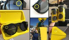 Snaptacles, a Camera Glasses Device launched by Snapchat