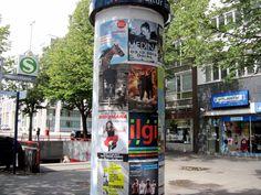 #Litfaßsäule #Kultursäule Hamburg, Reeperbahn