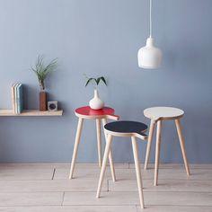 Subtle Stools & Side Tables
