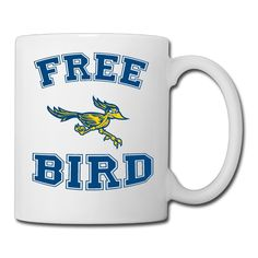 FRENDIY CSU BAKERSFIELD Free Bird CSUB Unique Coffee Tea Mug Mugs11OZ *** Don't get left behind, see this great  product : Coffee Cups and Mugs