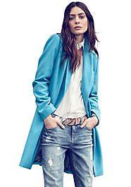 Bruno Banani Kurzmantel - Damenmode Bruno Banani, Elegant, Duster Coat, Raincoat, Bomber Jacket, Shirts, Denim, Blouse, Jackets
