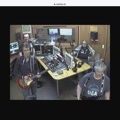 Blamasch im Radio Fips in Göppingen Humor, Pinball, Rock Bands, Blues, Best Music, Concert, Cheer, Ha Ha, Humour