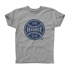 Aaron Judge Ball B New York Y Officially Licensed Toddler and Youth T-Shirts 2-12 Years
