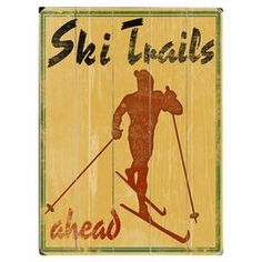 North Country Trails Wall Decor