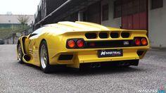 Rare Lamborghini Diablo GT1 Stradale