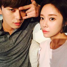 Hwang Jung-eum / She was pretty / KDrama / Park Seo-Joon Korean Celebrities, Korean Actors, She Was Pretty Kdrama, K Park, Hwang Jung Eum, Ahn Jae Hyun, Park Seo Joon, Korean Couple, Siwon